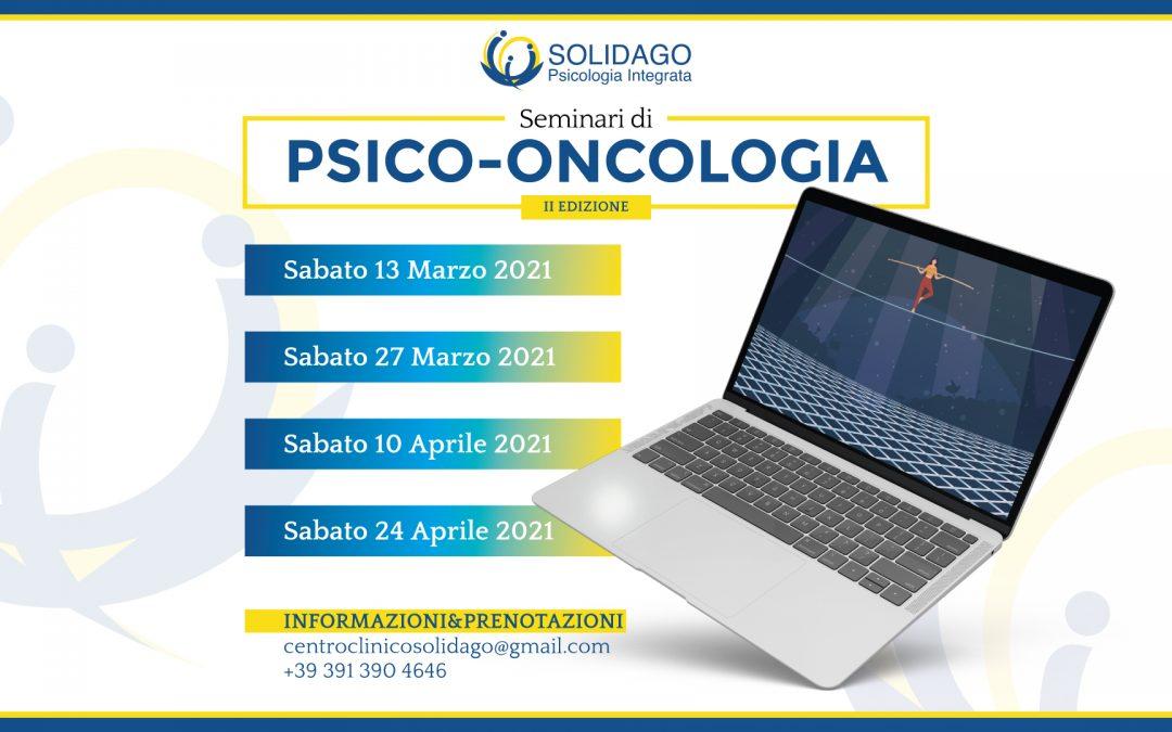 Seminari di psiconcologia II ed. 2021